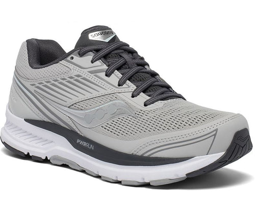 Saucony Women's Echelon 8 Neutral Road Running Shoe that accommodates an orthotic