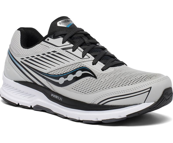 Saucony Men's Echelon 8 Neutral Road Running Shoe that accommodates an orthotic