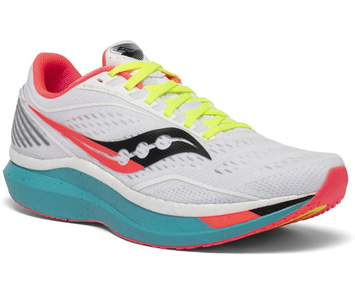 Saucony Men's Endorphin Speed Neutral Road Running and Racing Shoe with Nylon Plate
