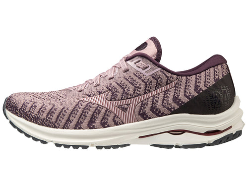 Mizuno Women's Wave Rider Waveknit 24 Neutral Road Running Shoe