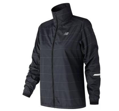 New Balance Women's Reflective Packable Jacket