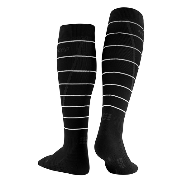 CEP men's reflective compression socks for running