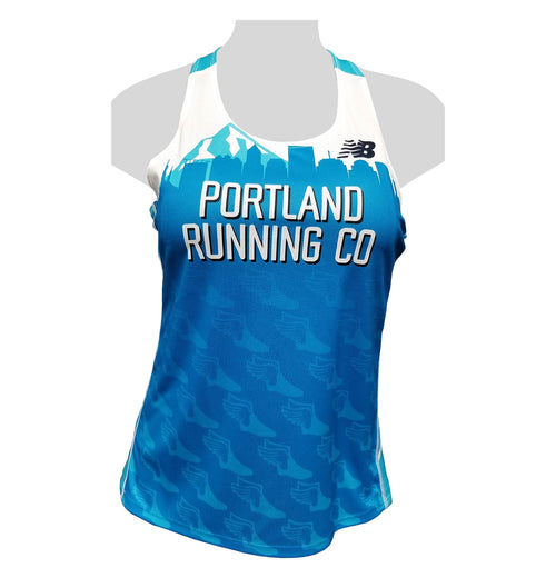 2019 New Women's Singlet PRC Portland Running Company Race Team Jersey Uniform Club Membership