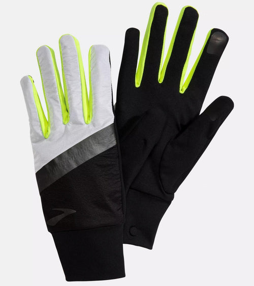 Brooks Carbonite Reflective Running Gloves