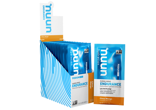Nuun Endurance Energy Drink Citrus Mango Single Pack