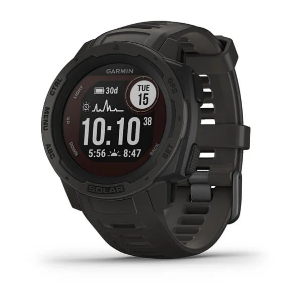 Garmin Instinct Solar Sun-Powered GPS Adventure Watch