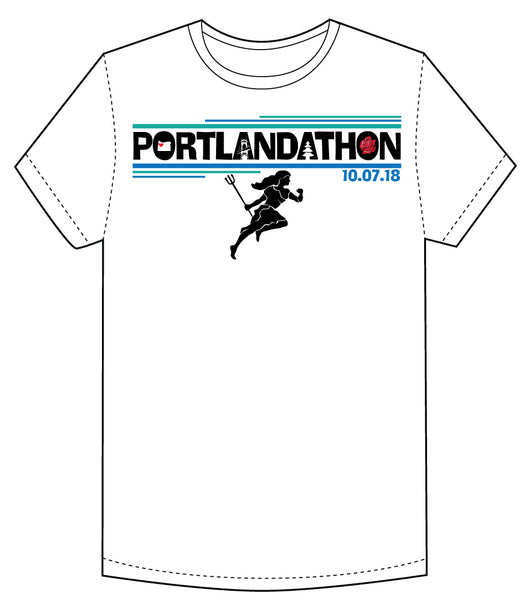 Portlandathon Men's Comfy Cotton Tee
