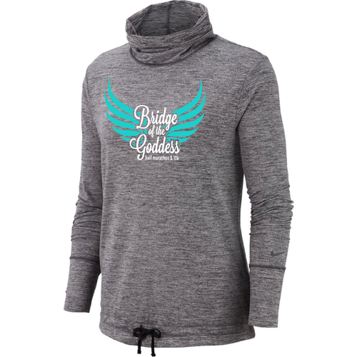 Bridge of the Goddess 2019 Nike Yoga Funnel-Neck Top