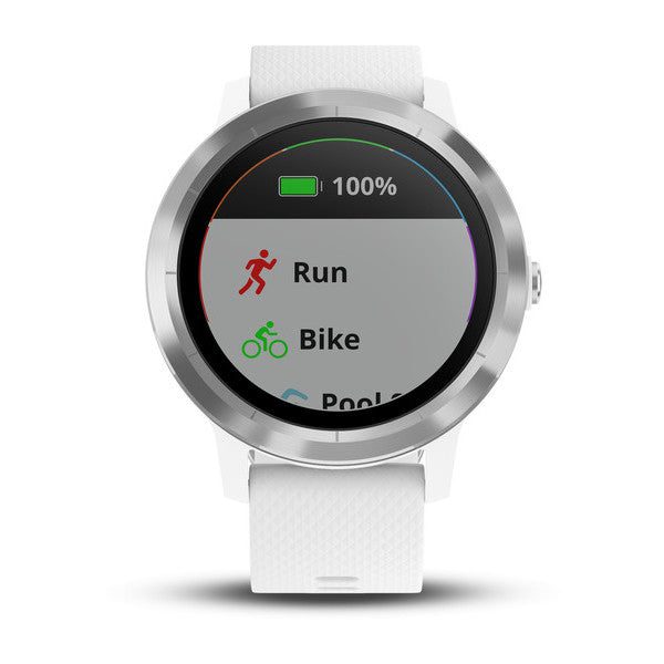 Garmin Vivoactive 3 White/Stainless