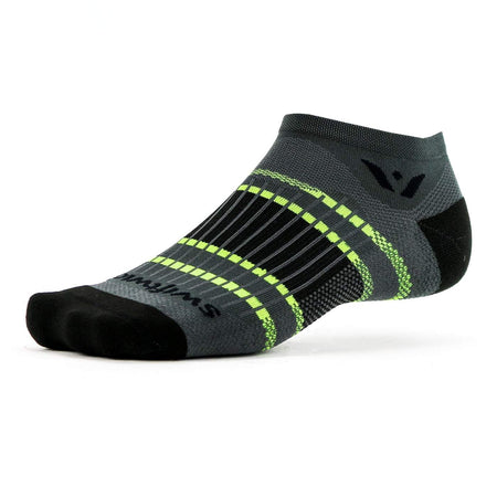 Brooks Nightlife Reflective Crew Socks