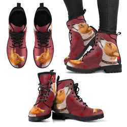 Valentine's Day Special-Basenji Dog Print Boots For Women-Free Shipping