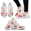 Valentine's Day Special Maltese Dog 2Print Running Shoes For Women- Free Shipping