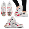 Valentine's Day Special Siberian Husky Dog Print Running Shoes For Women- Free Shipping