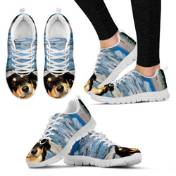 'Australian Shepherd Dog' Running Shoes-Women-Free Shipping