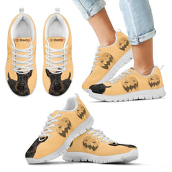 Scottish Terrier Halloween Print Running Shoes For Kids/Women-Free Shipping