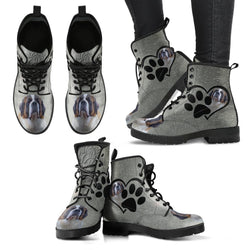 Valentine's Day Special-St. Bernard Dog Print Boots For Women-Free Shipping