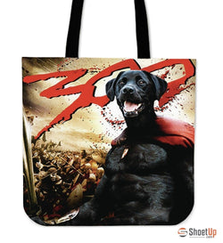 '300' Movie Style Labrador Tote bag - Free Shipping