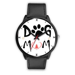 """Dog Mom"" Print Christmas Special Wrist Watch-Free Shipping"