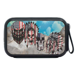 Native Americans Costume Mount Rushmore Print Bluetooth Speaker