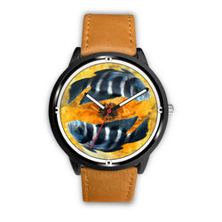 African Cichlid Fish Print Wrist Watch - Free Shipping