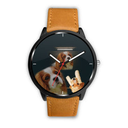 Amazing Cavalier King Charles Spaniel dog Print Wrist Watch-Free Shipping