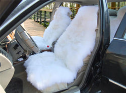 Auto - 1 Piece Australian Sheepskin Plush Car Seat Cover