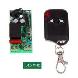 Auto - 100M Remote Control Transmitting Distance Switch With 2-Button Smart Remote Control