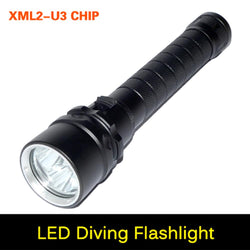 Auto - High Brightness 6000 Lumens 3 X CREE T6 Waterproof Diving Flashlight