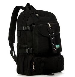 Backpacks - Fashion Shoulder Casual Canvas Backpack For Men