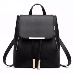 Backpacks - High Quality PU Leather Top-handle Backpacks