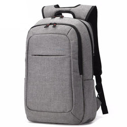 Backpacks - Mens Canvas 14.1 Inch Laptop Notebook Backpack