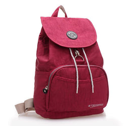 Backpacks - Waterproof Nylon 10 Colors Women's Backpacks