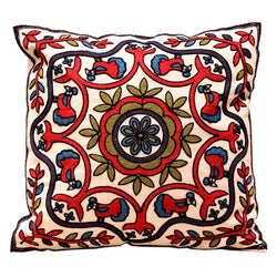 Bedroom - 100% Cotton Embroidery Sofa/Bed Cushion Cover