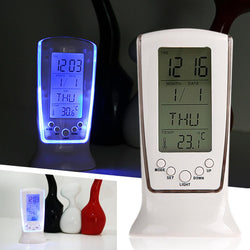 Bedroom - Blue Backlight Digital Electronic Desktop Alarm Clock