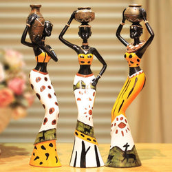 Bedroom - Creative New Living Room Decoration Ornaments Home Furnishing Jewelry Figure Doll