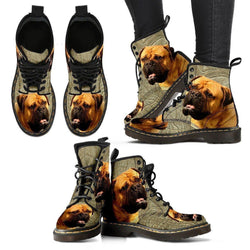 Bullmastiff Print Boots For Women-Express Shipping