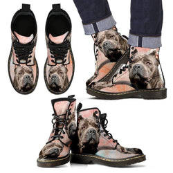 Cane Corso Print Boots For Men-Express Shipping
