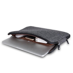 Cases - Felt Waterproof Laptop Bag In Various Sizes (11 12 13 14 15 15.6 Inches)