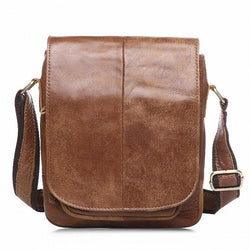 Cases - Genuine Leather Cowhide Small Shoulder Messenger Bags