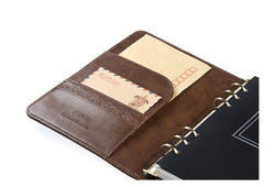 Cases - Leather A5 Planner/Organizer Personal Locking Notebook