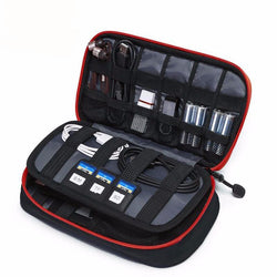 Cases - Portable Digital Accessories Gadget Device Organizer For USB Cable And Various Items