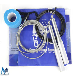 Exercise - Ultra Speed Cross-fit Metal Bearing Sports Skipping Rope