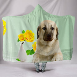 Anatolian Shepherd Dog Print Hooded Blanket-Free Shipping