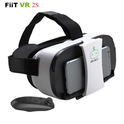 Hobbies - FiiT VR 2S Head Mount 3 D Virtual Reality Goggles VR Headset Glasses Video Game Theater+Controller