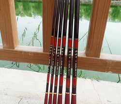 Hobbies - Pisfun 3.6-6.3M Stream Fishing Rod Carbon Fiber Telescopic Fishing Rod Ultra Light Carp Fishing Pole