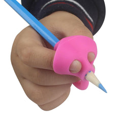 Infant/Children - 3PCS/Set Children Pencil Holder Pen Writing Aid Grip Posture Correction Tool New