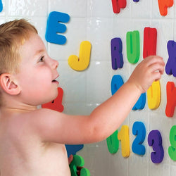 Infant/Children - Baby Bath Classic Educational 36pc/set (26 Letters + 10 Numbers )