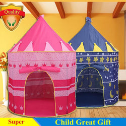 Infant/Children - Children Play Tent Game House - Large Princess And Prince Castle Palace
