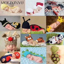 Infant/Children - Newborn Baby Photography Props Newborn Baby Cap Baby Hats