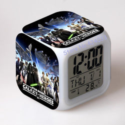 Infant/Children - Star Wars Alarm Clocks Digital Watch LED Color Changing